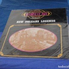 Discos de vinilo: LP JAZZ BYG RECORDS ESPAÑA 1971 APROX NEW ORLEANS LEGENDS HIGH SOCIETY SAVOY BLUES SNAG IT. Lote 258210425