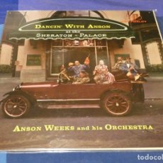 Discos de vinilo: LP FANTASY USA AÑOS 70 ANSON WEEKS AT THE SHERATON PALACE BUEN ESTADO GENERAL. Lote 258212930