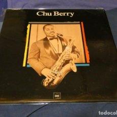 Discos de vinilo: LP CHU BERRY HOMONIMO ESPAÑA 1989 MAESTROS DEL JAZZ MUY BUEN ESTADO. Lote 258214155