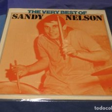 Discos de vinilo: LP ALEMANIA 1975 MUY BUEN ESTADO GENERAL THE BEST OF SANDY NELSON. Lote 258215190