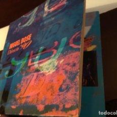 Discos de vinilo: MIGUEL BOSE (LP) DIRECTO '90 AÑO – 1991 – DOBLE DISCO CON PORTADA ABIERTA - ENCARTE CON LETRAS. Lote 258229140