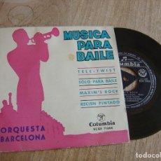 Discos de vinilo: ORQUESTA BARCELONA. -MUSICA PARA BAILE- 1962. PROBADO. Lote 258230380