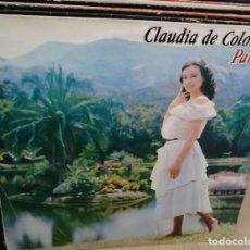 Discos de vinilo: MÁS IMÁGENES CLAUDIA DE COLOMBIA – PARAISO - EPIC MEXICO 1982 - MUY RARO. Lote 258241035
