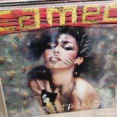 Discos de vinilo: CAMEO - SHE'S STRANGE - LP 1987 - NUEVO. Lote 258241290