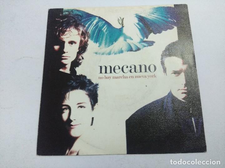 MECANO/NO HAY MARCHA EN NUEVA YORK/SINGLE PROMOCIONAL. (Música - Discos - Singles Vinilo - Grupos Españoles de los 70 y 80)
