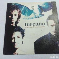 Disques de vinyle: MECANO/NO HAY MARCHA EN NUEVA YORK/SINGLE PROMOCIONAL.. Lote 258252010