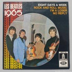 """Discos de vinilo: BEATLES - LES BEATLES 1965 - 7"""". Lote 258253815"""