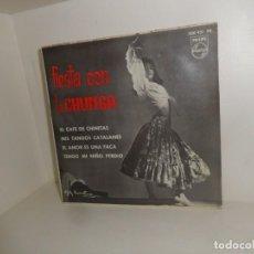 Disques de vinyle: LA CHUNGA - FIESTA CON LA CHUNGA - EL CAFE DE CHINITAS - EP - DISPONGO DE MAS VINILOS. Lote 258319810