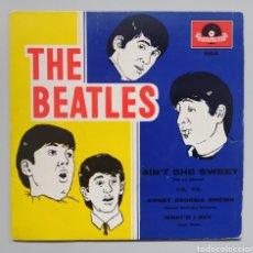 Discos de vinilo: BEATLES - AIN'T SHE SWEET - EP. Lote 258496375