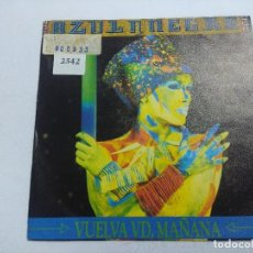 Disques de vinyle: AZUL Y NEGRO/VUELVA VD MAÑANA/SINGLE.. Lote 258504675