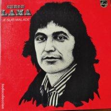 Discos de vinilo: SERGE LAMA- JE SUIS MALADE - LP 1973. Lote 258522175