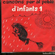 Discos de vinilo: CANÇONS PER AL POBLE D'INFANTS. 1. EUPHONIC 1974 . CESC. PERFECTE ESTAT NOU AMB INSERTO. Lote 258760490