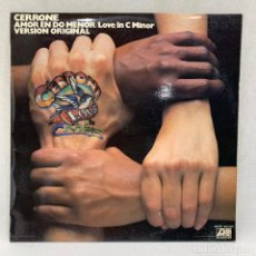Discos de vinilo: LP - VINILO CERRONE - AMOR EN DO MENOR /LOVE IN C MINOR - ESPAÑA - AÑO 1977. Lote 258766375