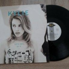 Discos de vinilo: KYLIE MINOGUE.LP .LET'S GET TO IT.1991.. Lote 258771415