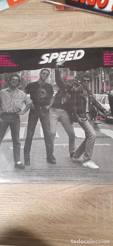Discos de vinilo: SPEED Contento punkrock donosti - Foto 2 - 258772245