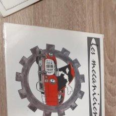 Disques de vinyle: LES MECANICIENS 2 SINGLES XABI MUGURUZA. Lote 258776535