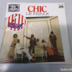 Discos de vinilo: CHIC - LE FREAK - SINGLE - 1978. Lote 258783680