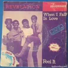Discos de vinilo: SINGLE / REVELATION WHEN I FALL IN LOVE, 1981. Lote 258789000