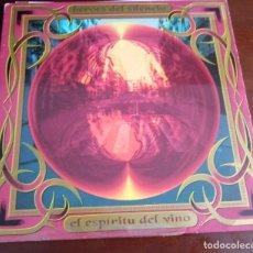 Disques de vinyle: HEROES DEL SILENCIO - EL ESPIRITU DEL VINO - LP - 1993 - COMPLETO - MBE - ENVIO GRATIS. Lote 258813405