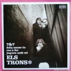 Discos de vinilo: ELS TRONS - 7&7 EP 2011 GARAGE BEAT EN CATALA - ROLLING STONES. Lote 258818250