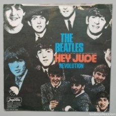 """Discos de vinilo: BEATLES - HEY JUDE - 7"""". Lote 258833440"""