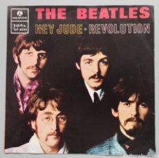 """Discos de vinilo: BEATLES - HEY JUDE - 7"""". Lote 258834930"""