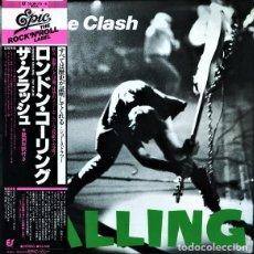 Discos de vinilo: THE CLASH – LONDON CALLING (CON OBI) (WITH OBI). Lote 258835760
