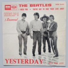 """Discos de vinilo: BEATLES - YESTERDAY - 7"""". Lote 258840385"""