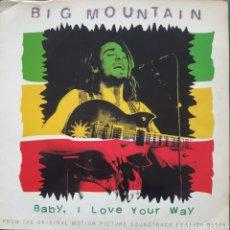 "Disques de vinyle: BIG MOUNTAIN - BABY, I LOVE YOUR WAY (12"", MAXI) (RCA) 74321198061 (1994/ES). Lote 258844865"