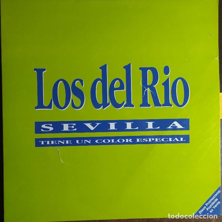 """12"""" LOS DEL RIO - SEVILLA TIENE UN COLOR ESPECIAL - SP-45.32 - MAXI - PROMO (G++/EX++) (Música - Discos de Vinilo - Maxi Singles - Étnicas y Músicas del Mundo)"""