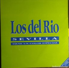 """Discos de vinilo: 12"""" LOS DEL RIO - SEVILLA TIENE UN COLOR ESPECIAL - SP-45.32 - MAXI - PROMO (G++/EX++). Lote 258866470"""