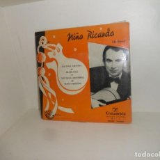 Disques de vinyle: NIÑO RICARDO - FANTASIA SALINERA - GUITARRA - EP - DISPONGO DE MAS VINILOS. Lote 258874240