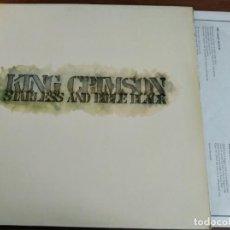 Disques de vinyle: KING CRIMSON - STARLESS AND BIBLE BLACK ***** REEDICIÓN ESPAÑOLA GATEFOLD DE 1978, GRAN ESTADO!. Lote 258935525