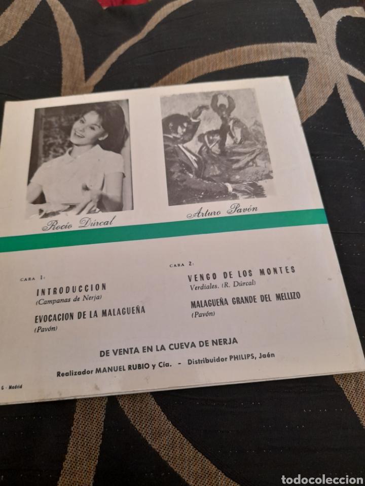 Discos de vinilo: Campanas de la Cueva de Nejar Rocío Durante y Arturo Pavon - Foto 2 - 258961215