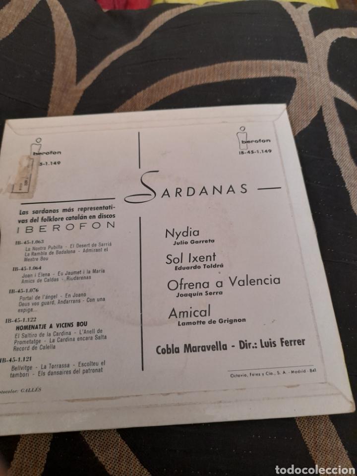 Discos de vinilo: Cobla Maravella,Sardanas a estrenar - Foto 2 - 258962150