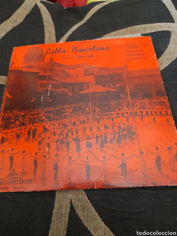 COBLA BARCELONA, TENOR JOSÉ COLL (Música - Discos de Vinilo - Maxi Singles - Country y Folk)