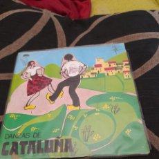 Discos de vinilo: DANZAS DE CATALUÑA, VINILO. Lote 258962930