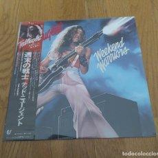 Discos de vinilo: VINILO TED NUGENT – WEEKEND WARRIORS. EDICIÓN JAPONESA 1978, PRECINTADO!. Lote 258969695