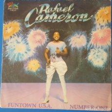 Discos de vinilo: SINGLE / RAFAEL CAMERON - FUNTOWN U.S.A., 1981. Lote 258983600