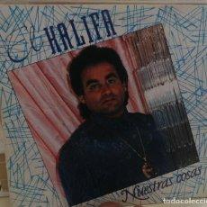 Discos de vinilo: EL KALIFA ··· NUESTRAS COSAS / CORALES Y PERLAS · (SINGLE 45 RPM). Lote 258984550