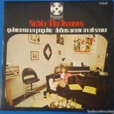 Discos de vinilo: SINGLE / ROBIN MCNAMARA - LAY A LITTLE LOVIN ON ME (QUIEREME UN POQUITO), 1970. Lote 258987140