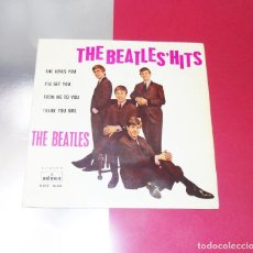 Discos de vinilo: THE BEATLES --SHE LOVES YOU + 3 LABEL AZUL FUERTE -----VINILO/FUNDA VERY GOOD PLUS ( VG+ ) ---- XIII. Lote 259002010