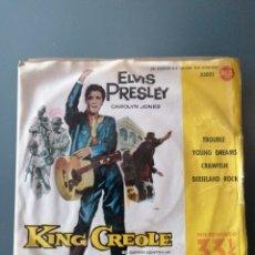 Discos de vinilo: ELVIS PRESLEY, KING CREOLE. Lote 259011580