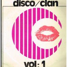 Discos de vinilo: EUROSOUND ORCHESTRA - DISCO / CLAN VOL. 1 - LP 1977 - PROMO. Lote 259025645