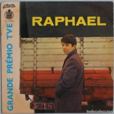 Discos de vinilo: RAPHAEL//YO SOY AQUEL+3//EP//HISPAVOX ALVORADA PORTUGAL. Lote 259055345