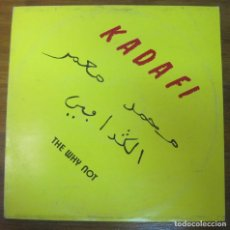 Discos de vinilo: THE WHY NOT, KADAFI. Lote 259212890