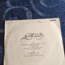 Discos de vinilo: SINGLE VINILO EUROVISION - STELLA - IF YOU DO LIKE MY MUSIC - SINGLE ESPAÑA. Lote 259229950