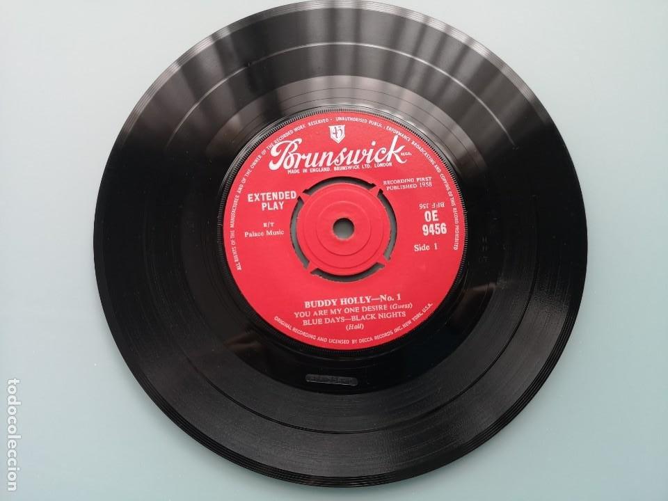 Discos de vinilo: DIFICIL EP BUDDY HOLLY Nº 1 ED INGLESA BRUNSWICK 1960 OE 9456 EDDIE COCHRAN ELVIS GENE VINCENT - Foto 4 - 259241085