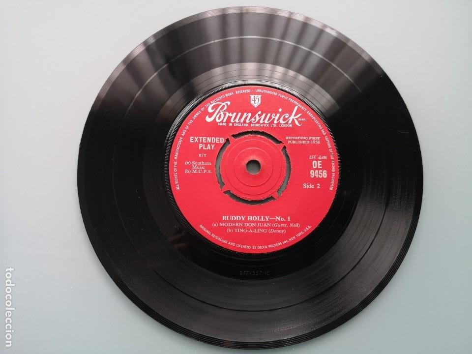 Discos de vinilo: DIFICIL EP BUDDY HOLLY Nº 1 ED INGLESA BRUNSWICK 1960 OE 9456 EDDIE COCHRAN ELVIS GENE VINCENT - Foto 6 - 259241085
