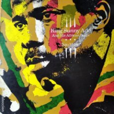 Discos de vinilo: KING SUNNY ADE AND HIS AFRICAN BEATS - JUJU MUSIC - LP. Lote 259255745